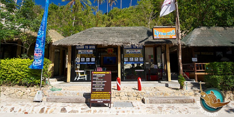 Koh tao dive resort bucear a tailandia