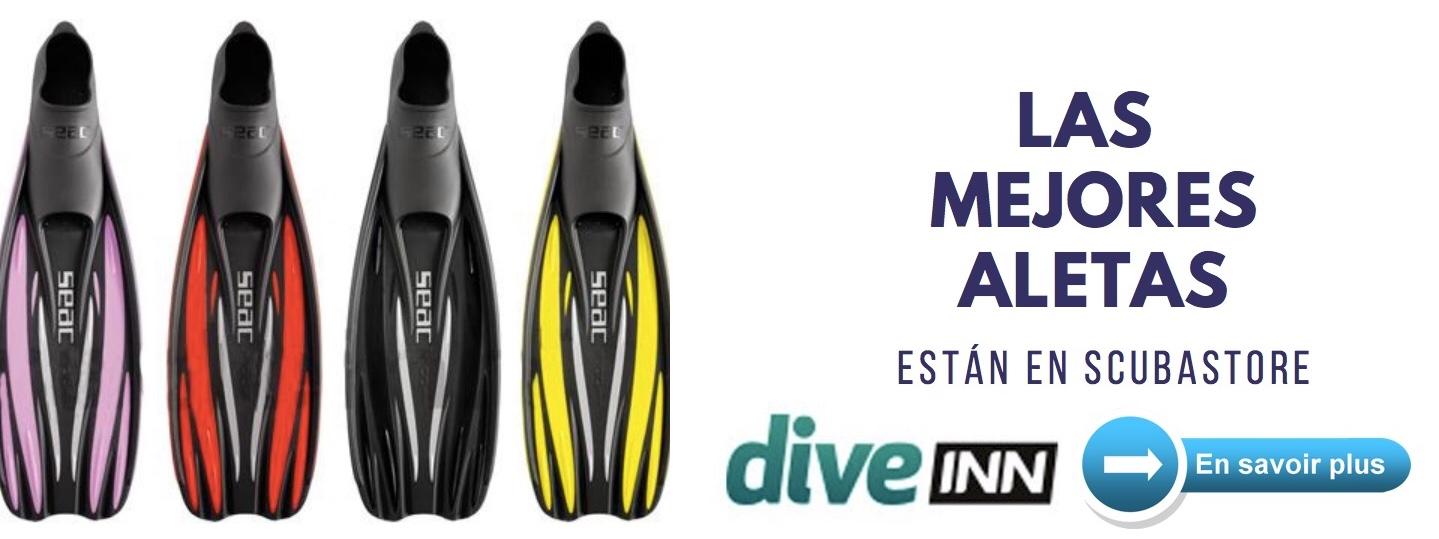 fins scuba diving