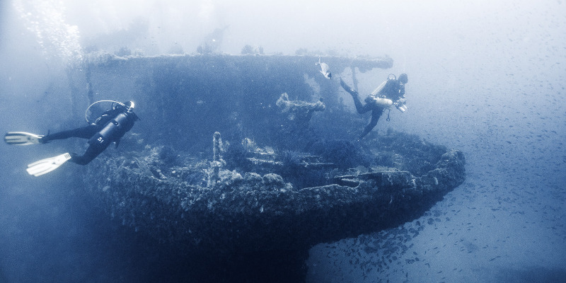 donator, best wreck dive in France