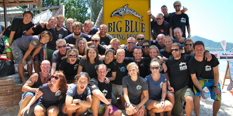Club de plongée Big Blue en Thailande