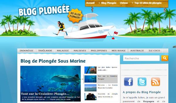 blog plongée