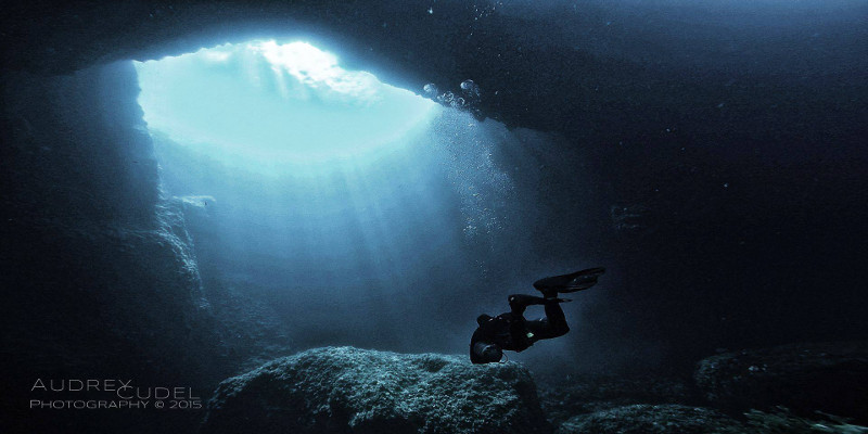 Gozo blue hole the best cave diving in Malta