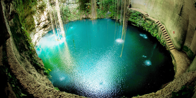 The Cenotes, the best dive in mexico