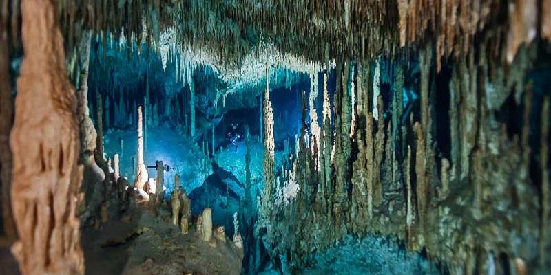 photo hd du site de plongée sous marine Cenote Dream Gate