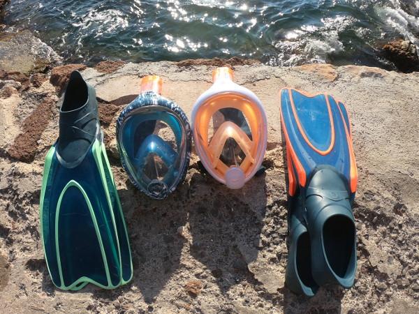 masque intégral snorkeling