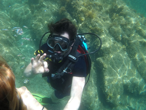 chaleco buceo