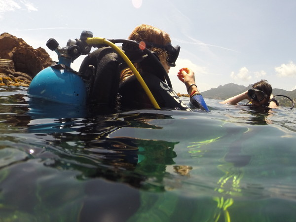 buceo chaleco