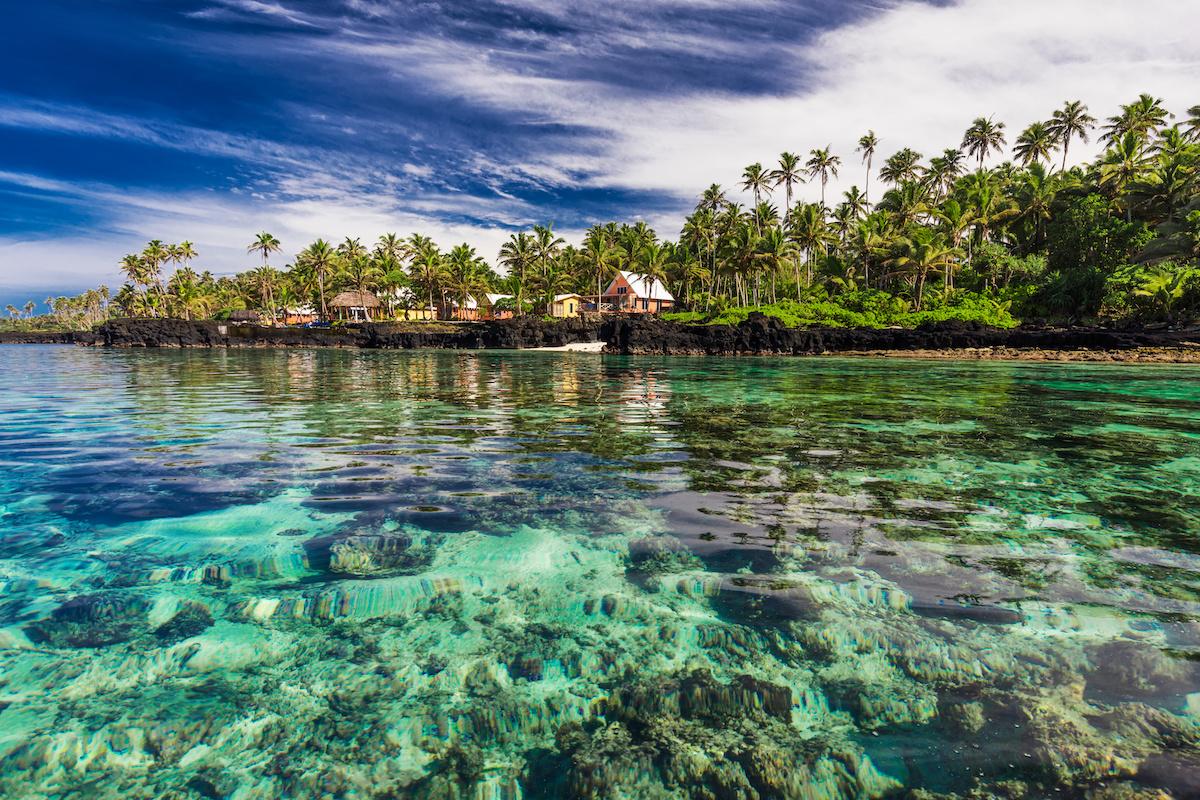 paradise island fiji