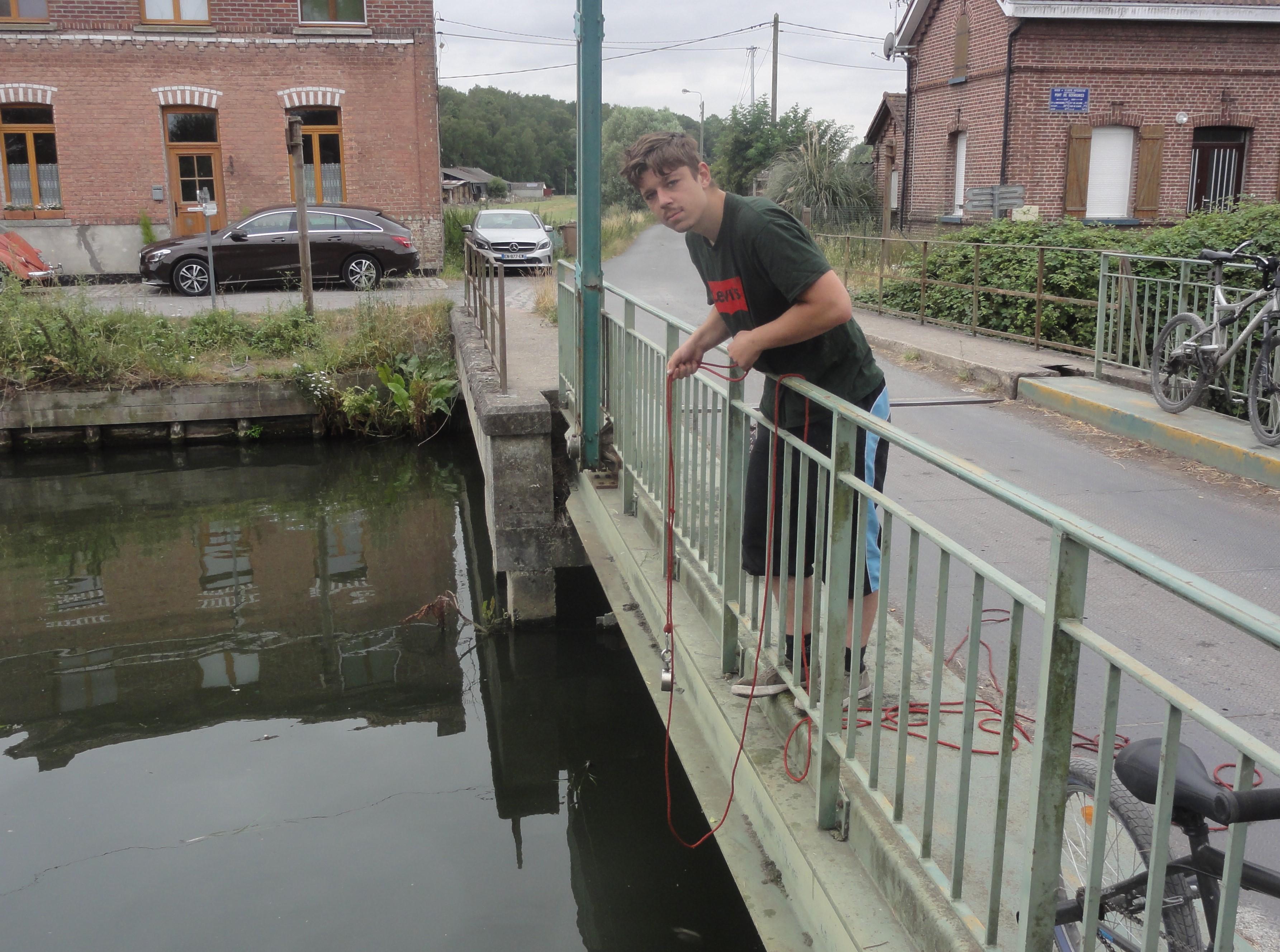 pêche à l aimant