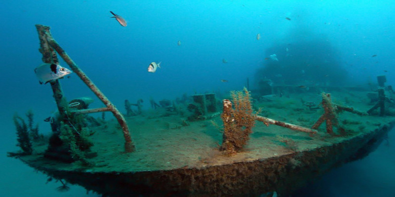 mv Karwella wreckship in gozo malta