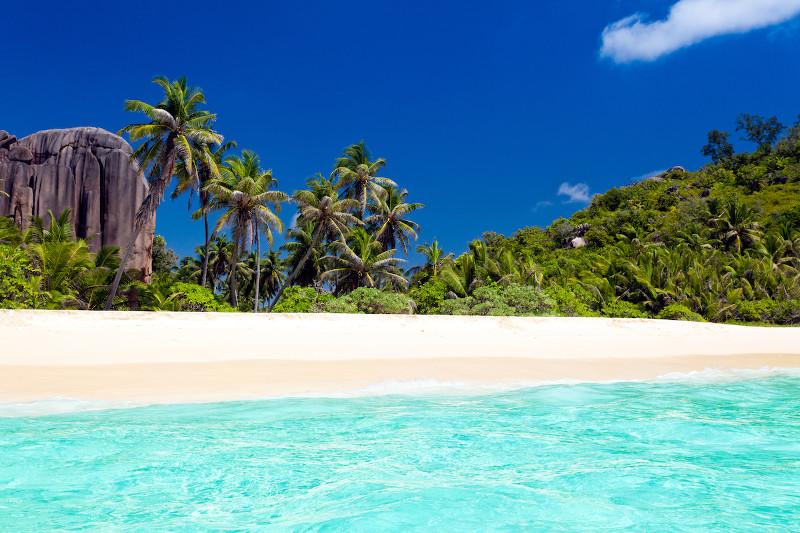 beach seychelles