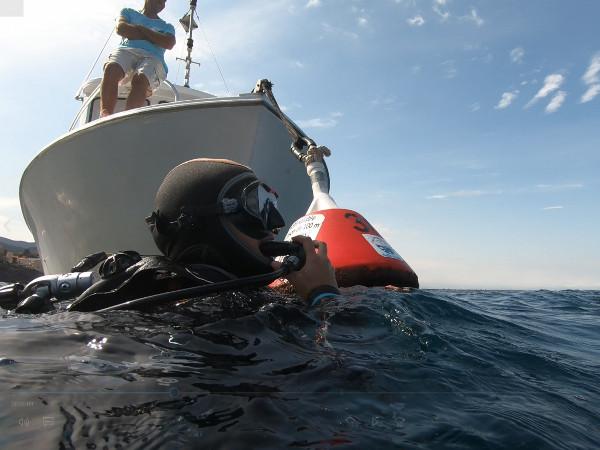 plongeur surface