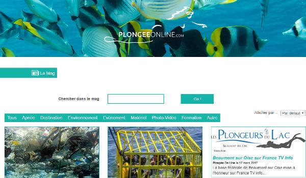 Plongee Online