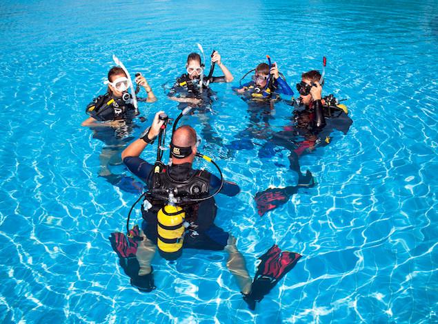 level 1 scuba diving