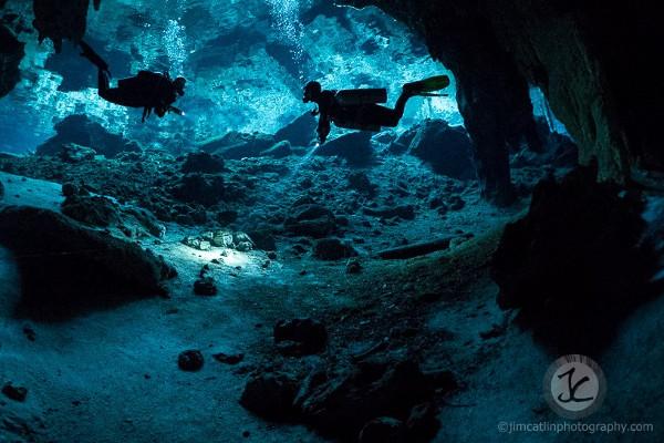 plongée grotte