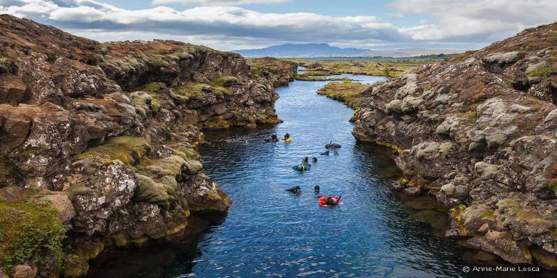 silfa meillleur site de plongée d'Islande