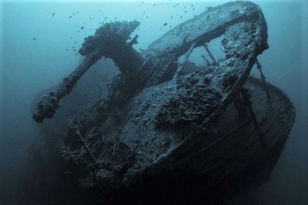 barco hundido thistlegorn