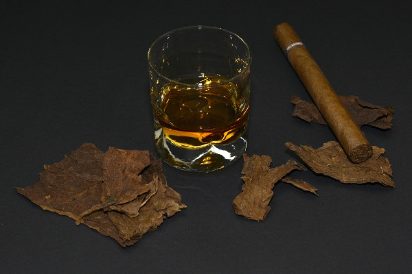 wisky cigare