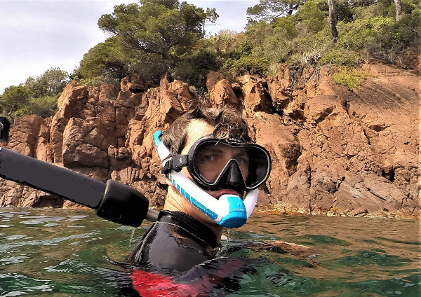 ameo powerbreather tuba snorkeling