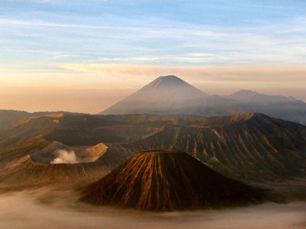 volcán java