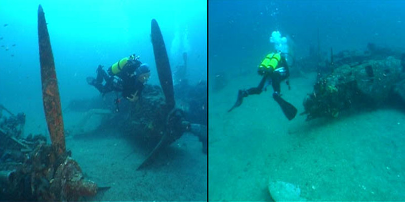 wreck of saint exupery find by divers