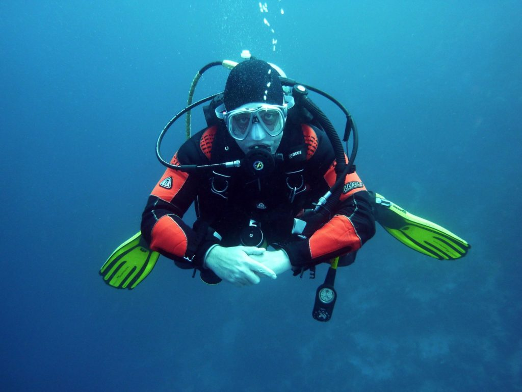diving gear check