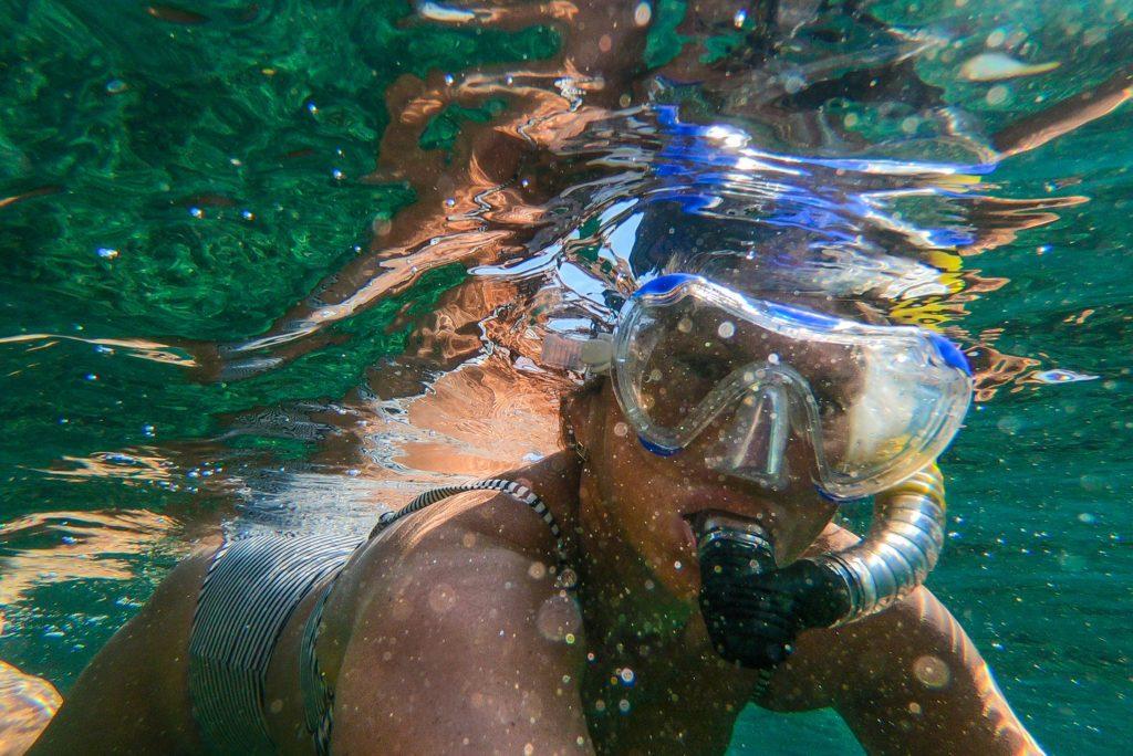 masque pour plonger